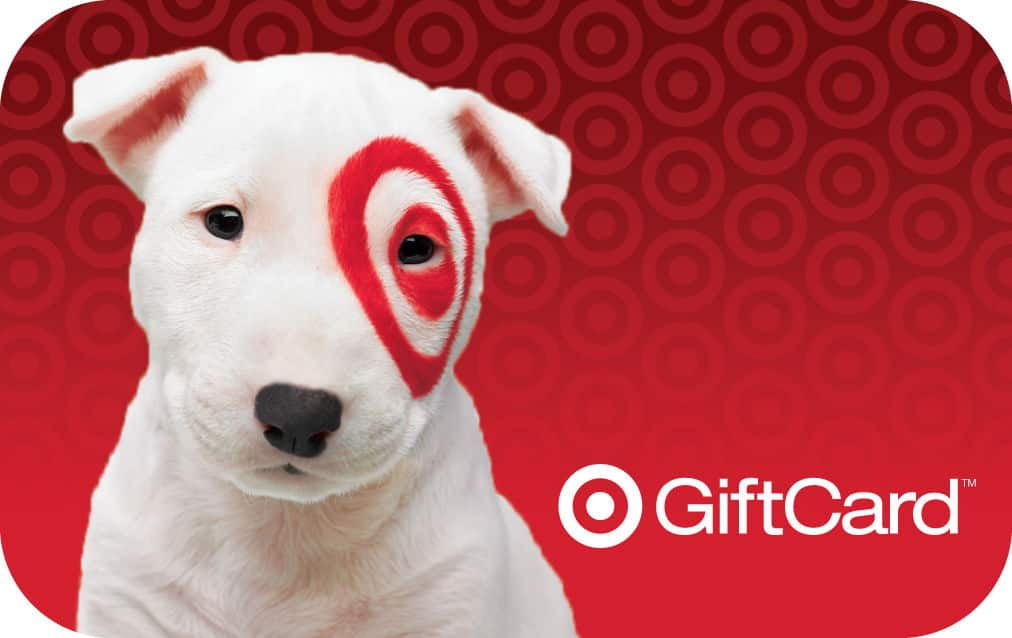 $100 Target Gift Card  $95 + Free Shipping
