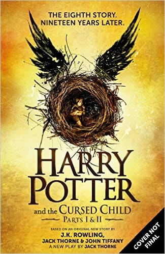 Harry Potter & The Cursed Child: Parts I & II Pre-Order (Hardcover)  $18