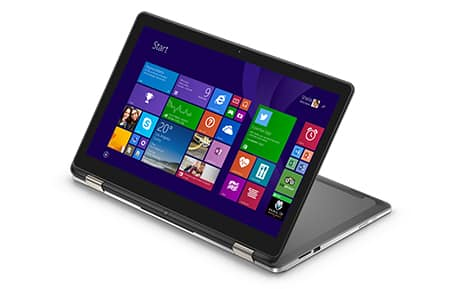 Dell Inspiron 15 7000 2-in-1 Touch Laptop: 3825U, 4GB DDR3, 500GB HDD, Win 10  $310 after $90 Slickdeals Rebate + Free S&H