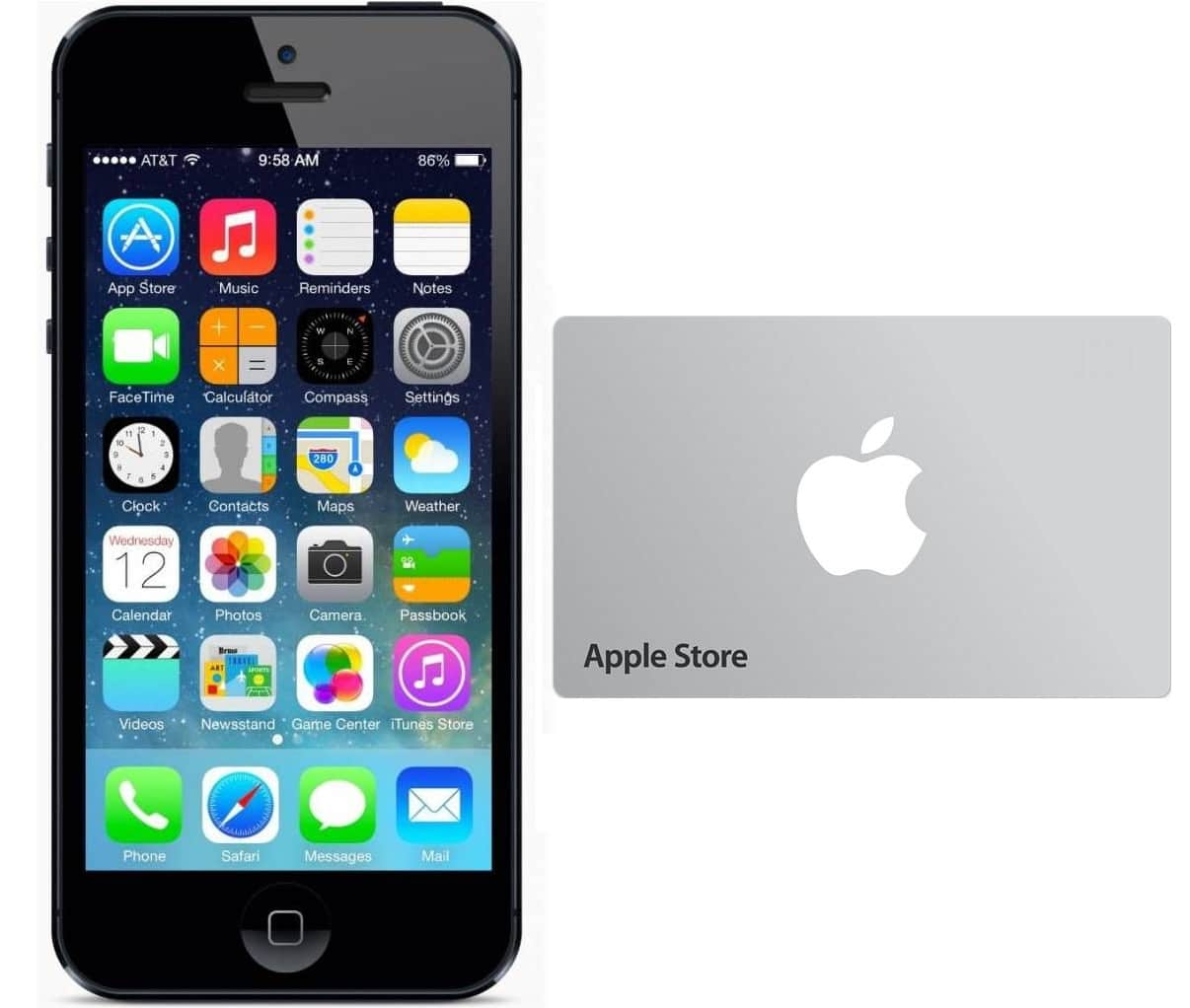 Trade-In Apple iPhone 4s or Higher, Receive Apple Gift Card Worth  Up To $300