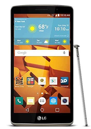 8GB LG G Stylo 4G LTE No-Contract Virgin Mobile Smartphone  $90 + Free Shipping