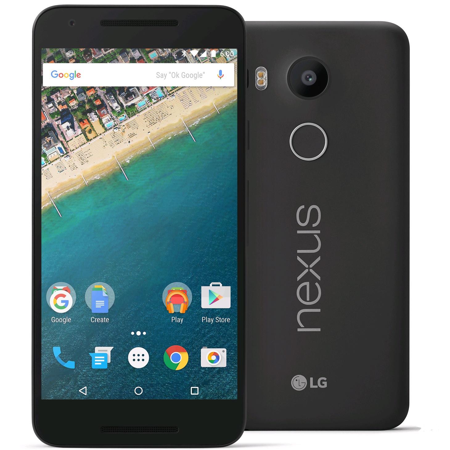 Project Fi Service: LG Google Nexus 5x 4G LTE Smartphone: 32GB $250, 16GB  $200 (Activation Req.)
