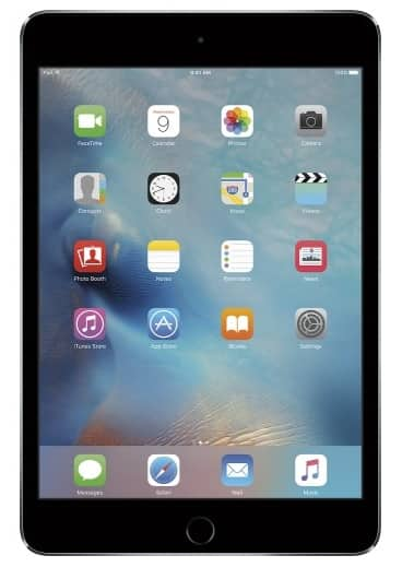16GB Apple iPad Mini 4 WiFi Tablet (Various Colors)  $300 + Free Shipping