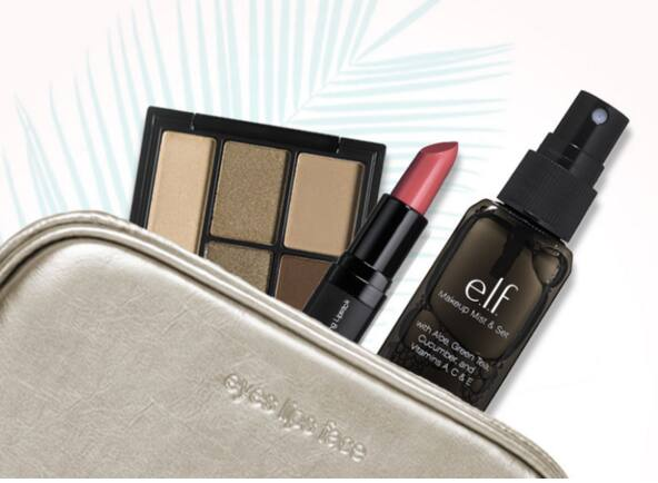 $25 E.L.F. Cosmetics Purchase + Free Spring Kit  $1 After $25 Rebate & More + Free S&H