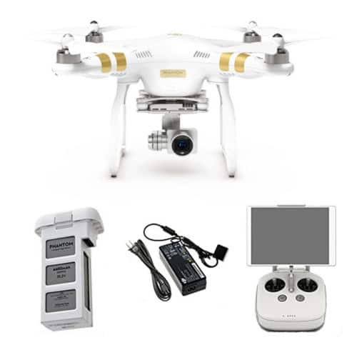 DJI Phantom 3 Professional Quadcopter w/ 4K Camera & 3-Axis Gimbal  $779 + Free Shipping