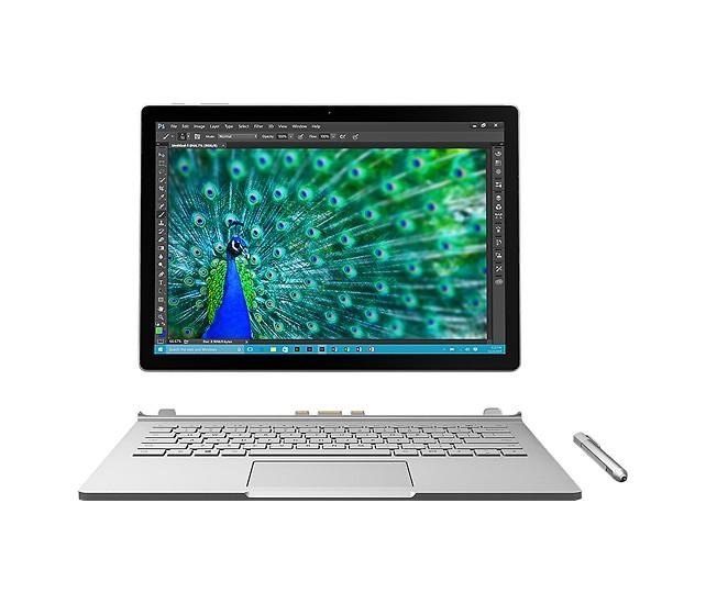 Microsoft Surface Book 2-in-1 Laptop: i5-6300U, 8GB RAM, 128GB SSD  $1250 (.edu email req.) + Free S&H