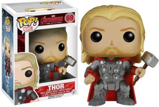 Funko POP! Marvel's Avengers Figures: Thor, Hulk or Ultron  $3.60 each + Free Shipping
