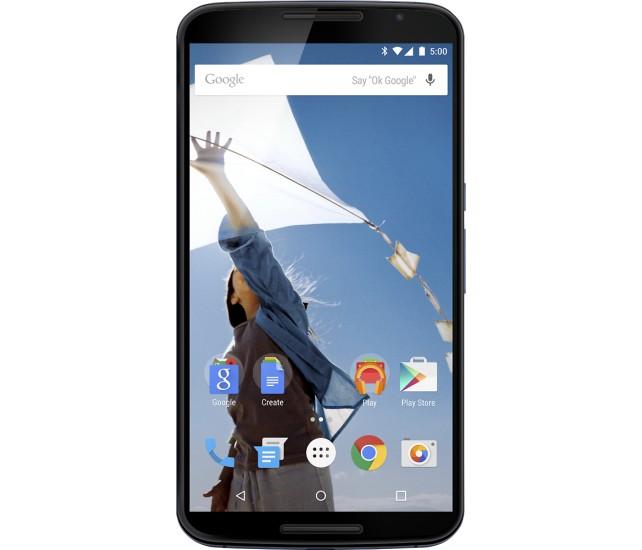 32GB Motorola Nexus 6 Verizon 4G LTE Unlocked Smartphone (Midnight Blue)  $200 + Free Store Pickup