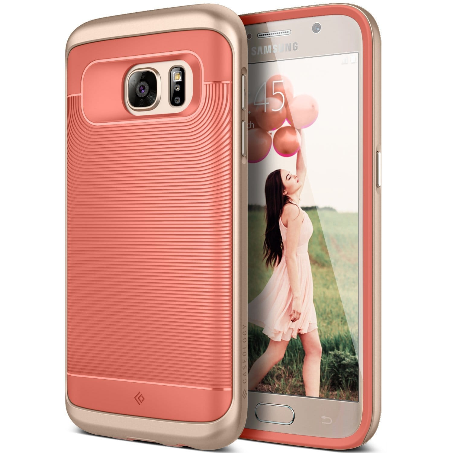 Caseology Cases: Galaxy S7, S7 Edge, Note 5, iPhone SE, 6, 6S, 6 Plus, 6S Plus  $5 + Free Shipping