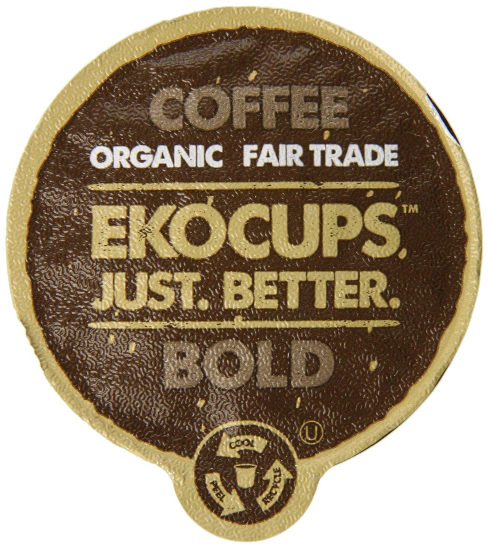 Prime Members: 40-Ct Ekocups Artisan Organic Coffee K-cups  from $11.15 + Free S/H