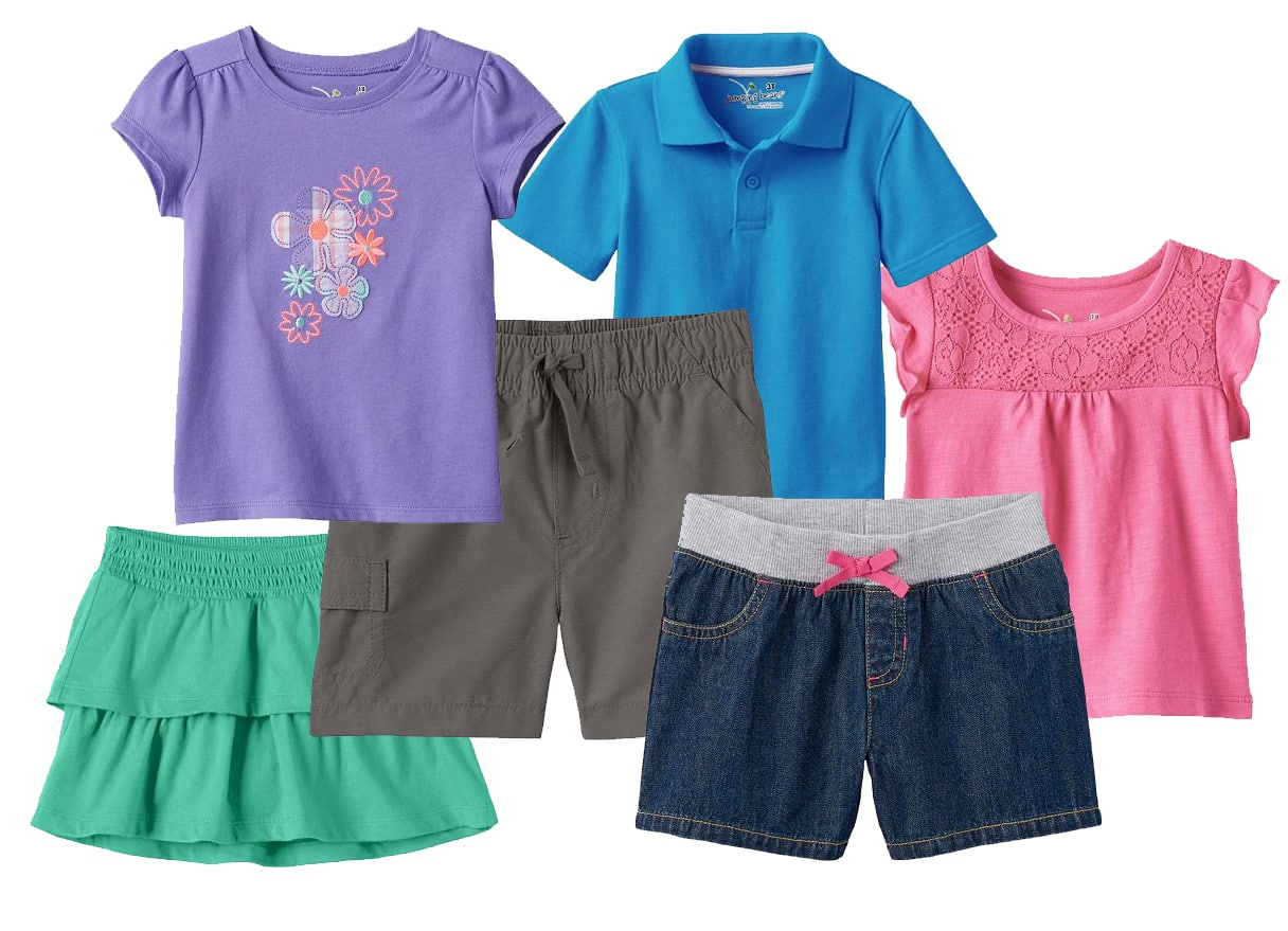 Kohls Cardholders: Jumping Beans Baby Boys' or Girls' Spring and Summer Apparel: 6-Pieces for $14 ($2.33 each when you buy 6) + Free Shipping