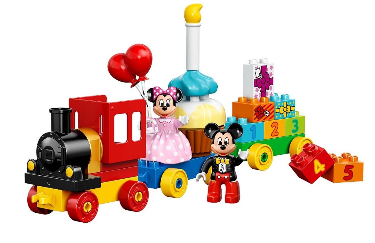 LEGO Duplo Disney Mickey & Minnie Birthday Parade Building Kit  $17.60 + Free Store Pickup