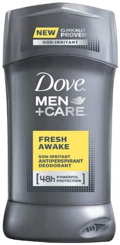 2.7oz Dove Men+Care Antiperspirant Deodorant (Fresh Awake) $1.83 + Free Shipping
