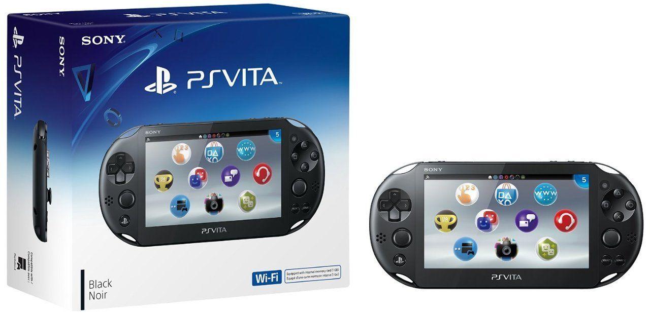Sony PlayStation Vita Console (Wi-Fi)  $120 + Free Shipping