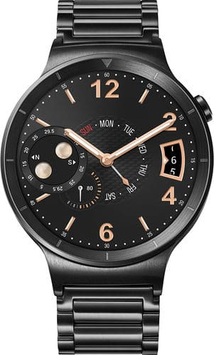 Huawei Smartwatches: Stainless Steel w/ Black Steel Band  $350 & More + Free S&H