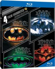4 Film Blu-ray Collections: Batman, The Matrix $11.99, Action, Family & More  from $9.60 + Free Shipping