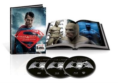 Batman V Superman Ult. Ed. (Blu-ray + DVD + Digibook) Pre-Order + $10 Target GC  $25