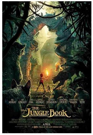 The Jungle Book (Blu-ray/DVD + Digital) + 2x $5 Gift Card $24.99 Preorder at target.com