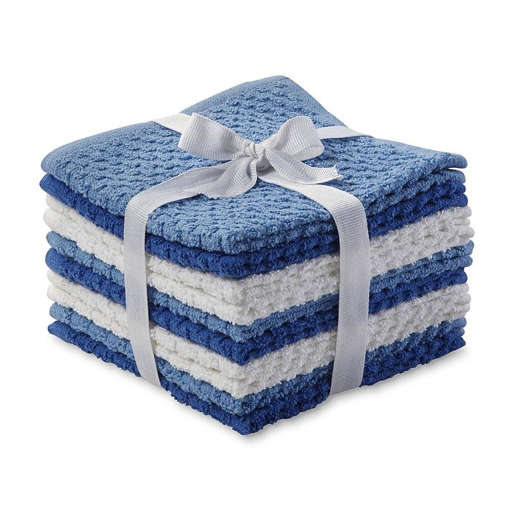 10-Pack Essential Home Washcloths (various colors)  $2 + Free Store Pickup