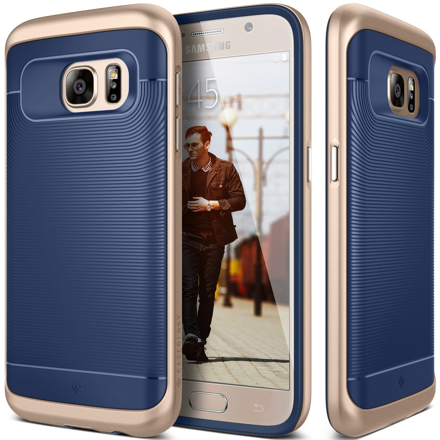 Caseology Cases: Galaxy S7/Edge/S6/Edge+/Note 4, iPhone 6/6S/Plus/SE/5, LG G4/G5  from $4 & More + Free S&H