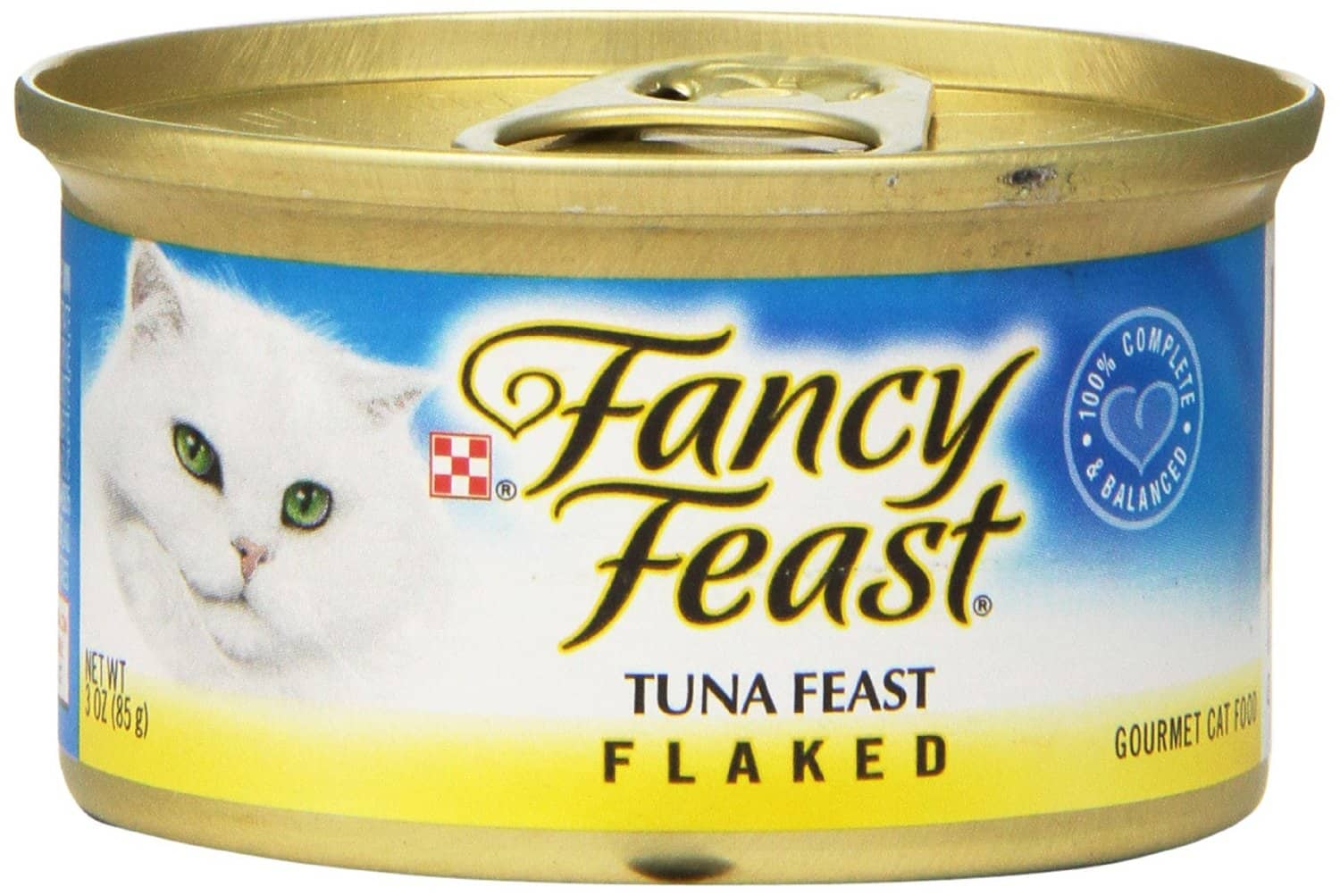 24-Pack of 3-oz Fancy Feast Cat Food (Tuna)  $9.60