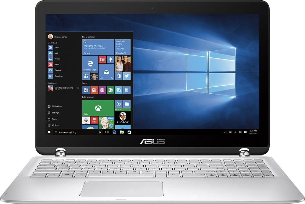 "Asus Q504UA 15.6"" 2-in-1 Touchscreen Laptop: i5-6200U. 12GB DDR4, 1TB HDD. 1080p  $530 + Free S&H (w/ Email Code)"
