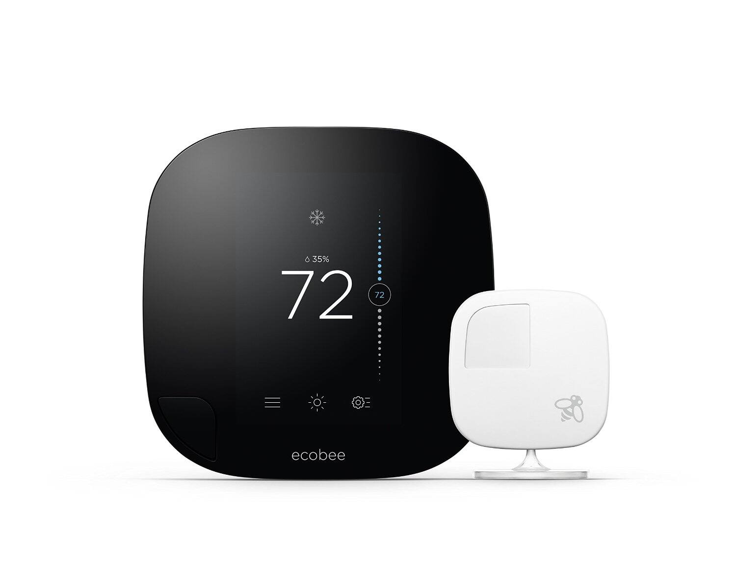 Prime Member and Alexa device owners: ecobee3 Smarter WiFi Thermostat with Remote Sensor, 2nd Generation $160
