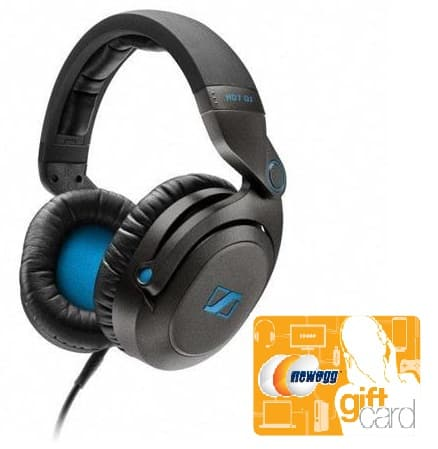 Sennheiser HD7 DJ Closed Pro Headphones (+$15 Newegg GC)  $115@Adorama (via Newegg)
