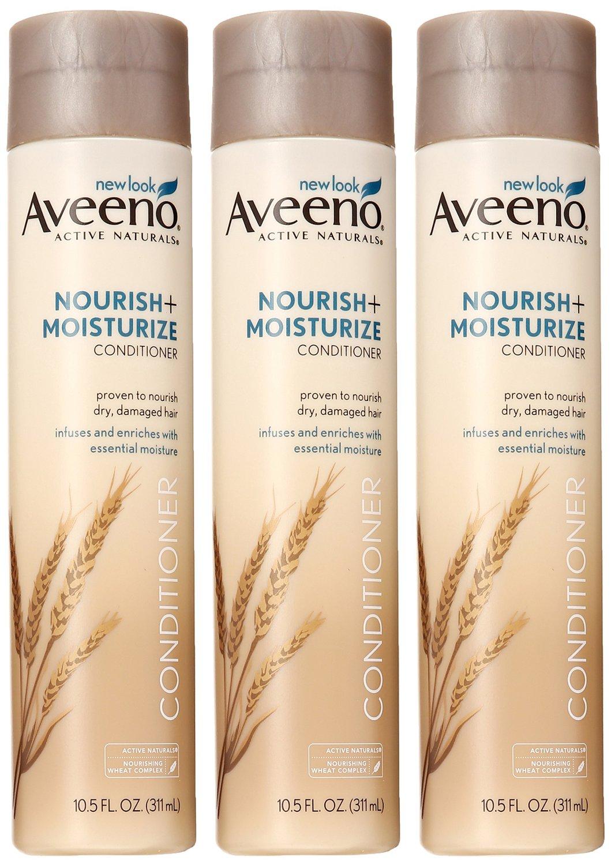 3-Pack of 10.5oz Aveeno Nourish + Moisturize Conditioner  $5.55 + Free Shipping