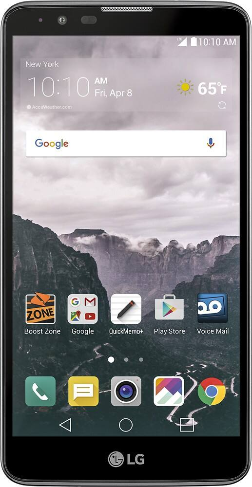 16GB LG G Stylo 2 4G LTE Smartphone (Boost or Virgin Mobile)  $80 + Free Shipping