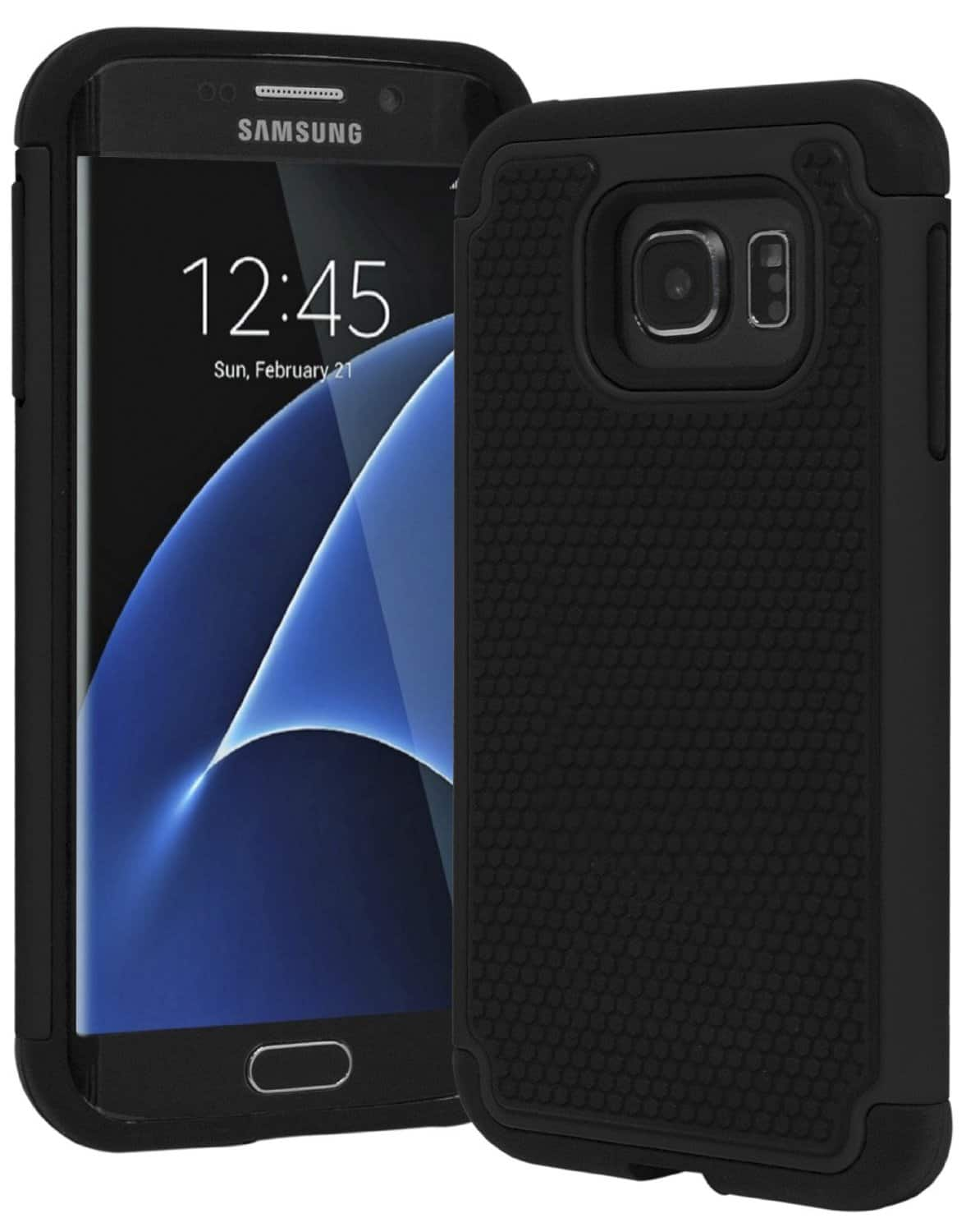 Bastex Hybrid Armor Slim Fit Protective Case for Galaxy S7 Edge  $1 + Free Shipping