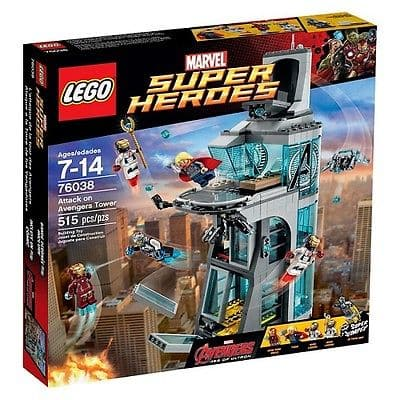 LEGO Marvel Superheroes: Attack on Avengers Tower 515-pc Building Set (76038)  $42 + Free Shipping