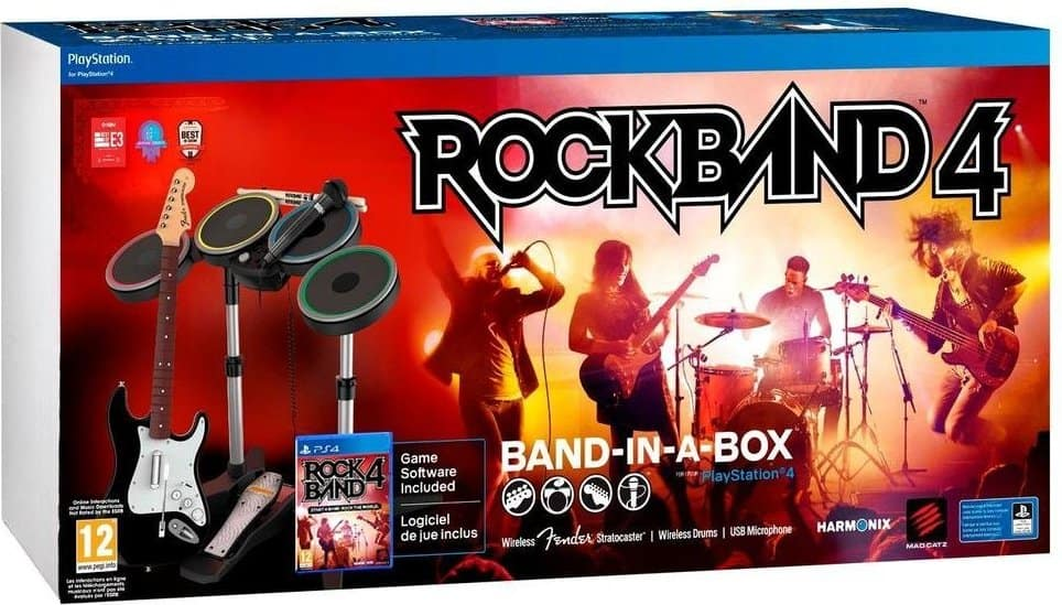 Rock Band 4 Band-in-a-Box Bundle (PS4)  $100 + Free Shipping