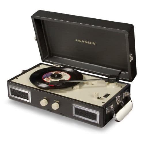 Crosley CR40 Portable Mini Turntable with Full-Range Stereo Speakers $53 + Free Shipping!