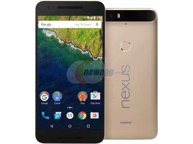 32GB Huawei Google Nexus 6P Unlocked Smartphone (Gold, Open Box)  $319 + Shipping