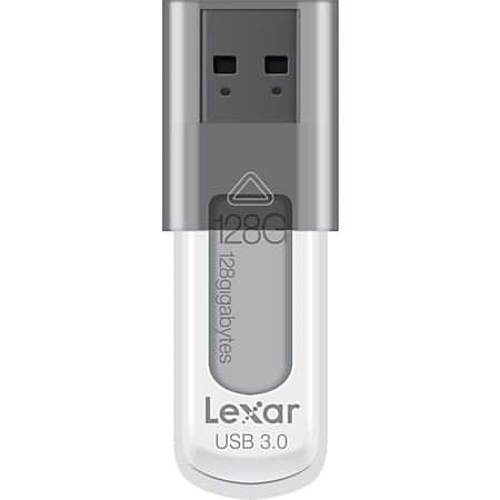 128GB USB 3.0 Flash Drives: Lexar JumpDrive S55  $20 + Free Store Pickup