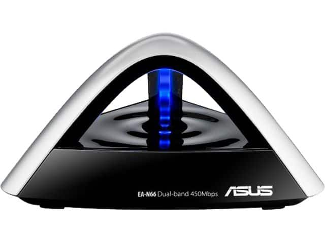 Asus EA-N66R Gigabit Ethernet + 3-in-1 Dual Band Wireless N900 Adapter  $20 + Free Shipping