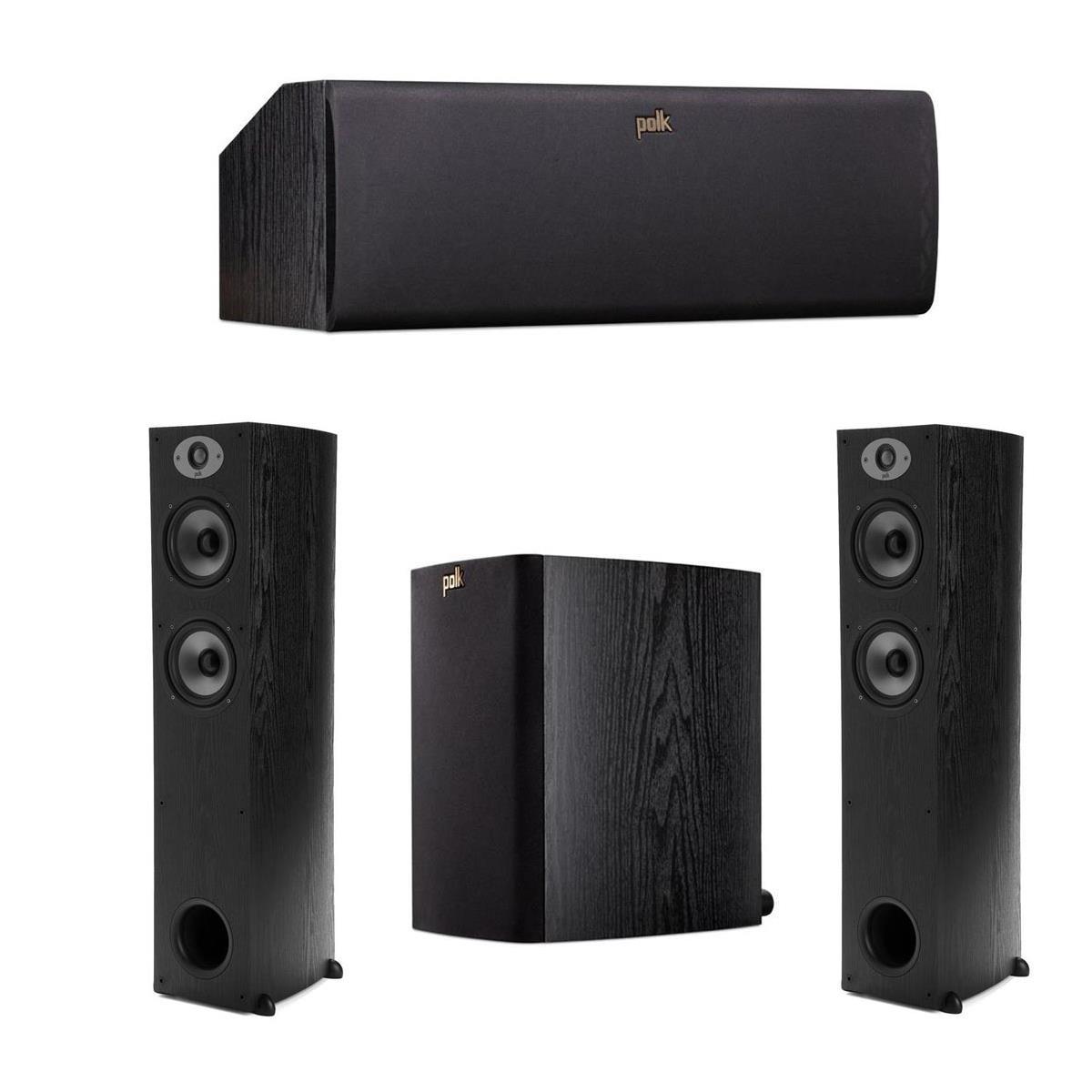 Polk Audio TSx Speaker Bundles: 2x Floor, Center & 2x Bookshelves  $470 + Free Shipping
