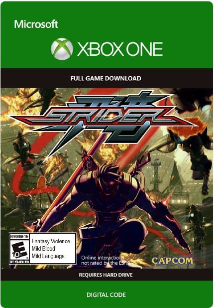 Strider (Xbox One or Xbox 360 Digital Download)  $3.75
