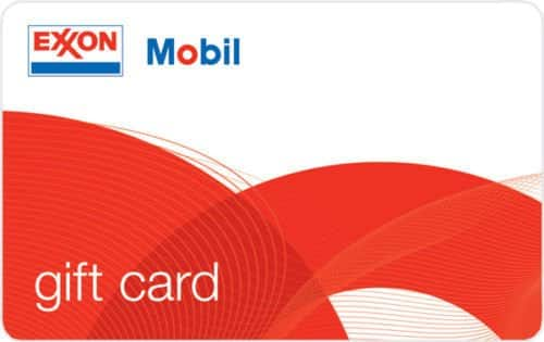 $100 ExxonMobil Gas Gift Card $92 + Free Shipping