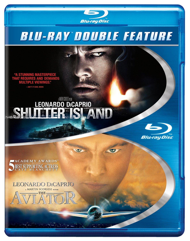 Shutter Island / The Aviator Double Feature (Blu-ray)  $5