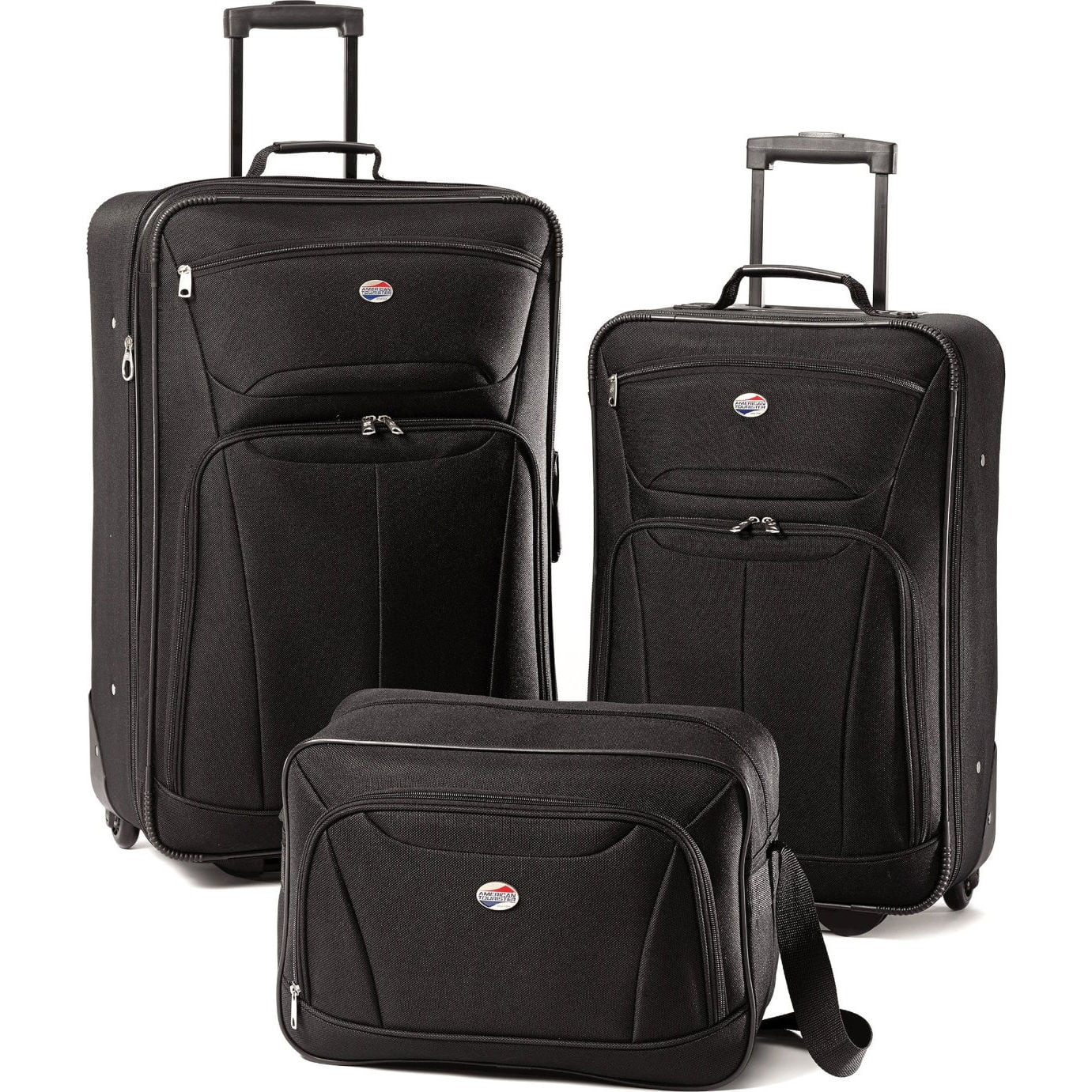 American Tourister Fieldbrook II 3-Piece Luggage Set (Black)  $40 + Free Shipping