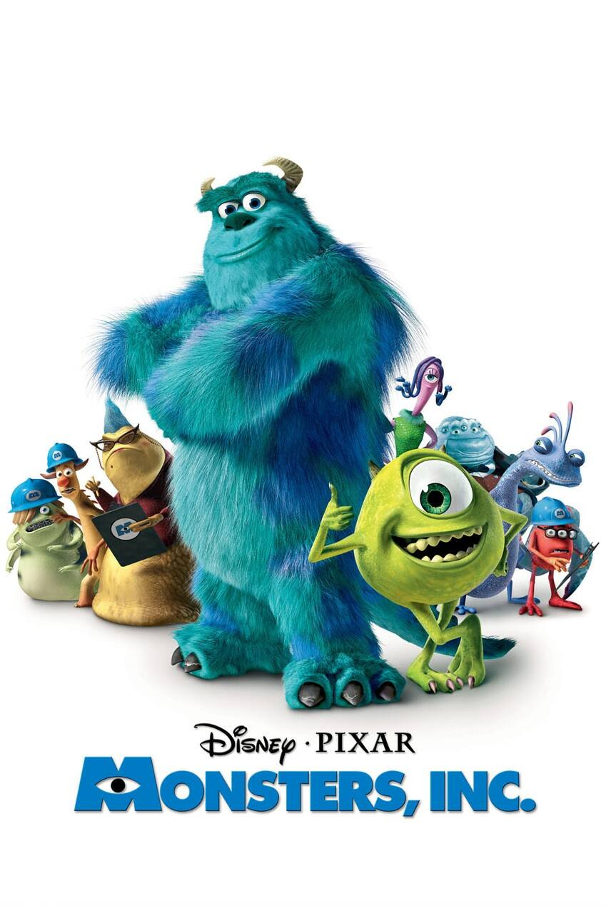 Disney Pixar Monsters, Inc (Digital Movie)  Free w/ Linked Account