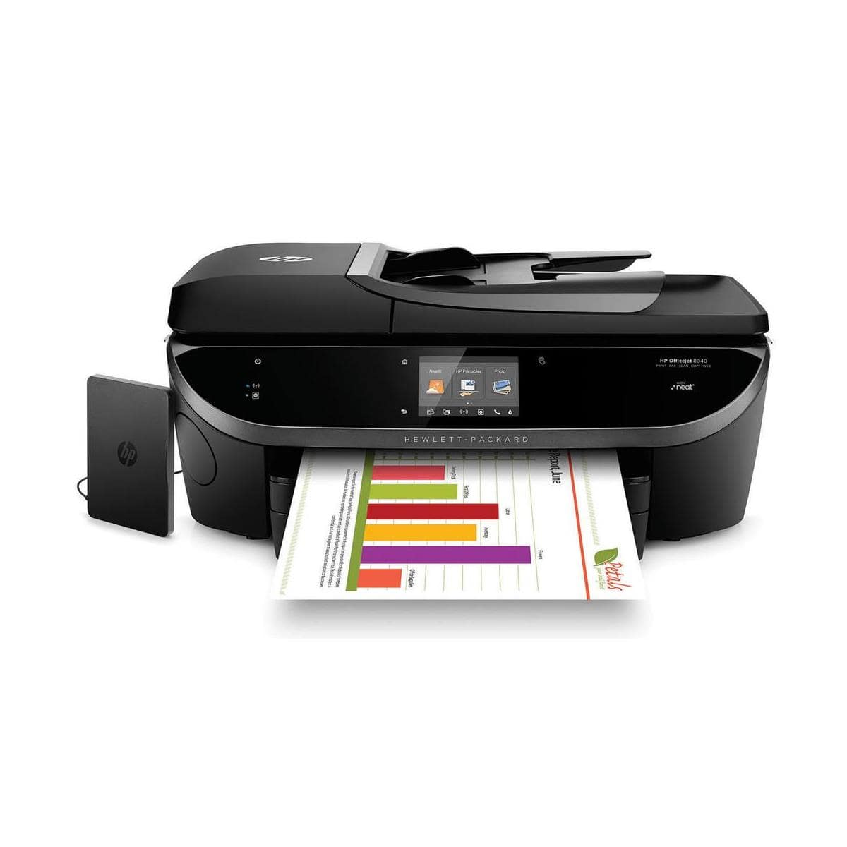 HP Officejet 8040 Wireless Color e-All-In-One Inkjet Printer  $119 + Free Shipping