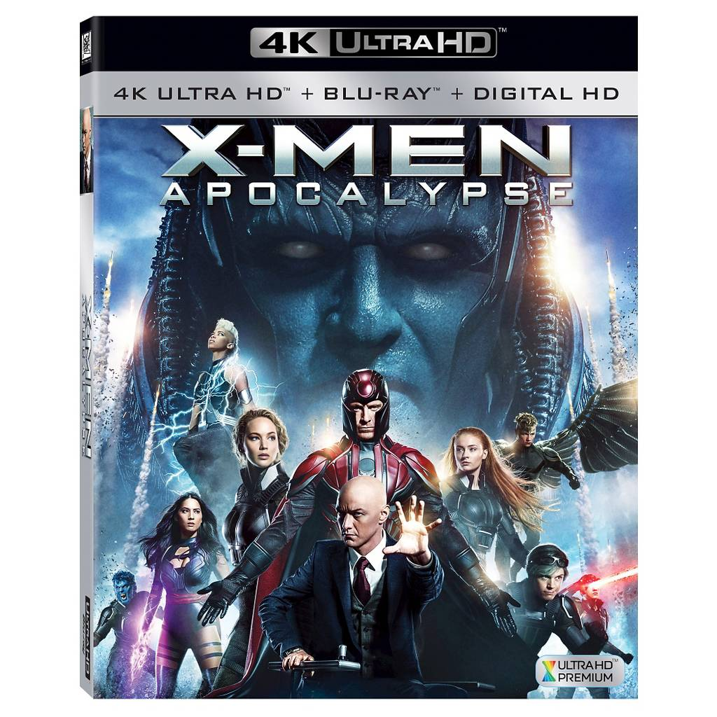 X-MEN: Apocalypse (4K/Blu-ray/Digital HD) or (3D/Blu-ray/Digital HD) + Free $5 gift card $24.29 (after 10% off) pre-order at Target