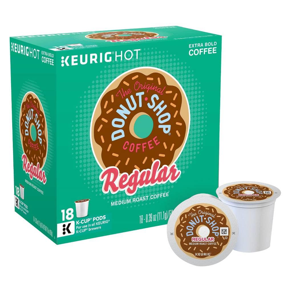 3-Pack of 18-Count Donut Shop or Green Mountain Coffee Keurig K-Cups $17.58 + Free Shipping