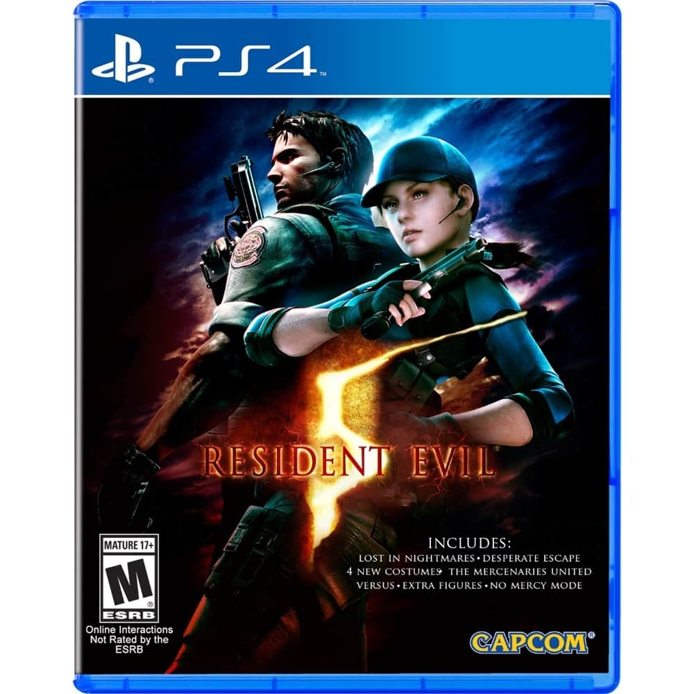 GCU Members: Resident Evil 5 or Resident Evil 6 (PS4)  $12 + Free Store Pickup