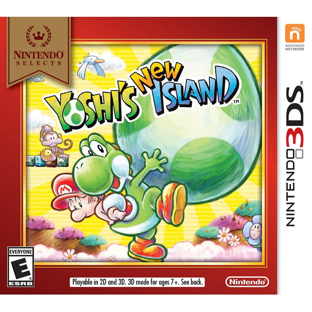 Nintendo 3DS Games: Yoshi's New Island  2 for $30 & More + Free Shipping