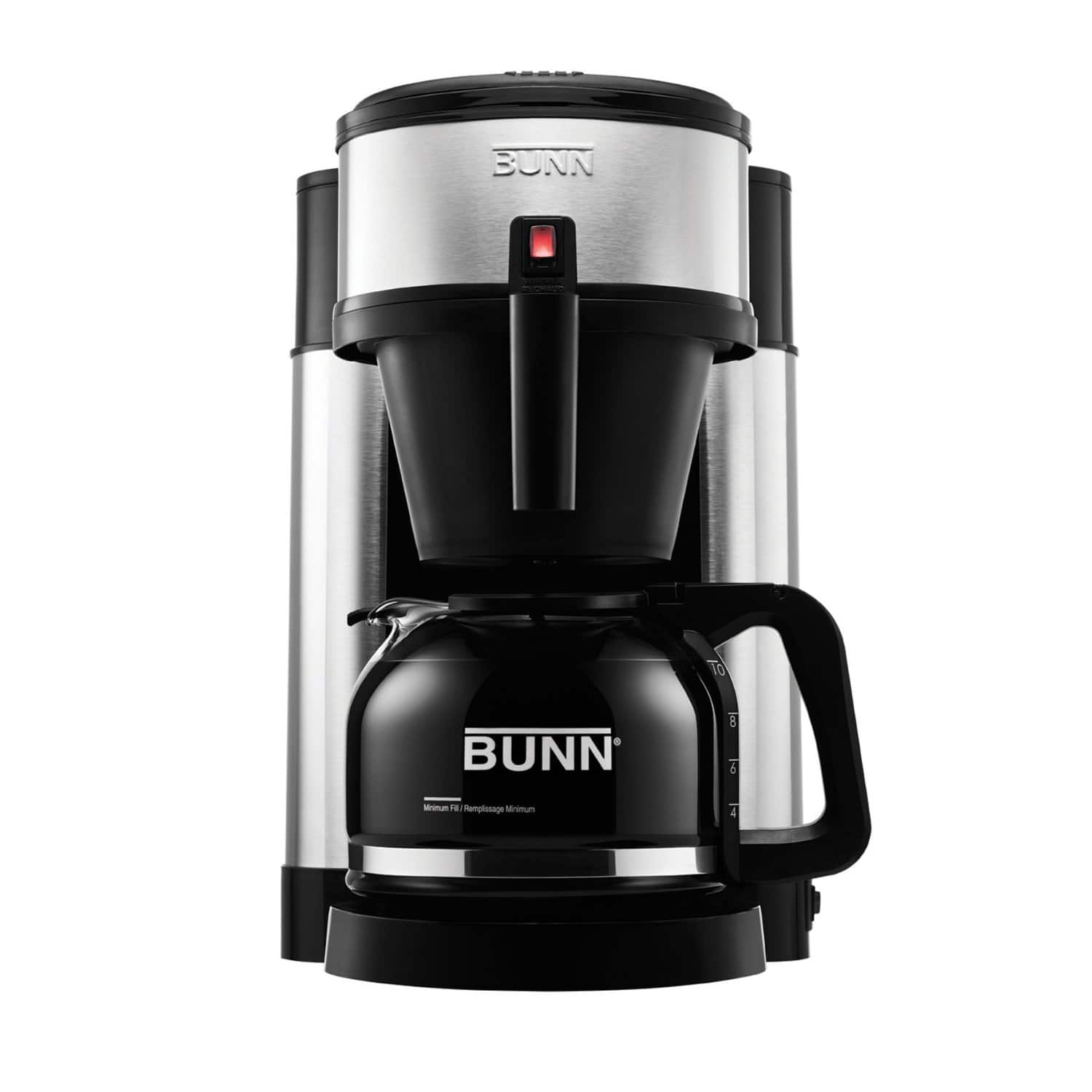 BUNN NHS Velocity Brew 10-Cup Coffee Brewer  $76.60 + Free Shipping