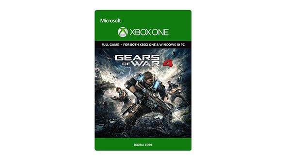 Gears of War 4 Pre-Order (Xbox One + Win 10 Digital) + $10 Microsoft Gift Card  $60